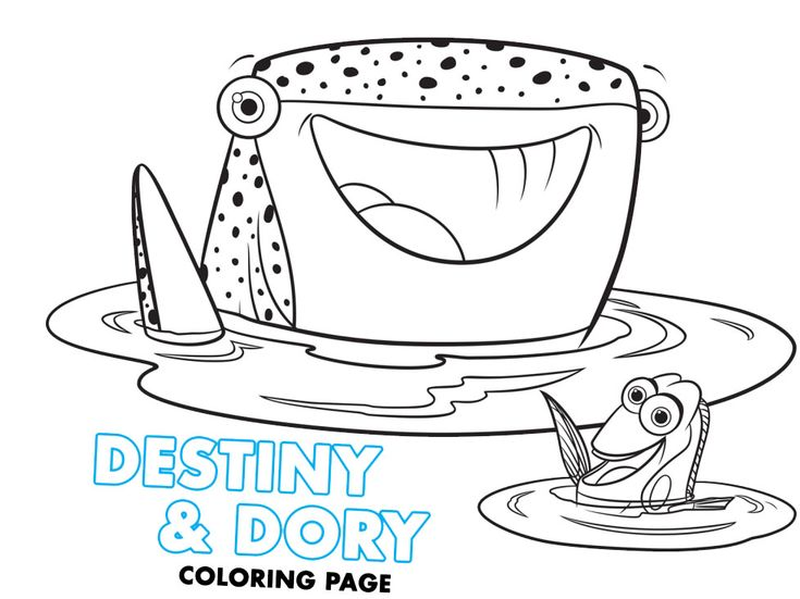 7 best Finding Dory images on Pinterest Finding dory, Coloring - new pixar coloring pages finding nemo