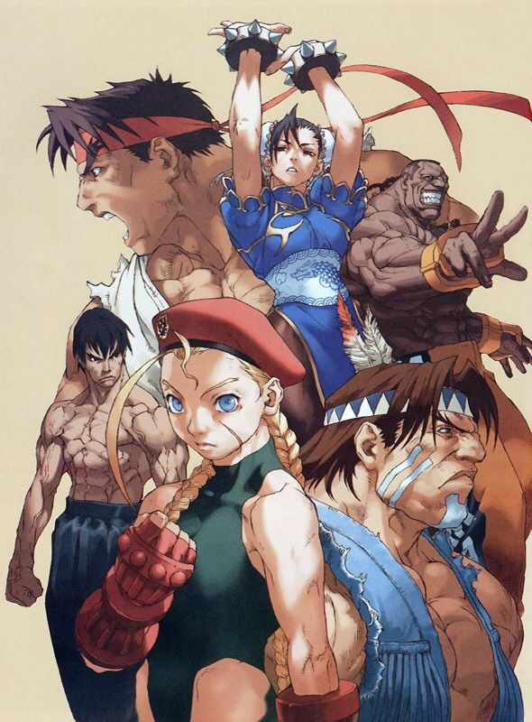 personajes de Street Fighters