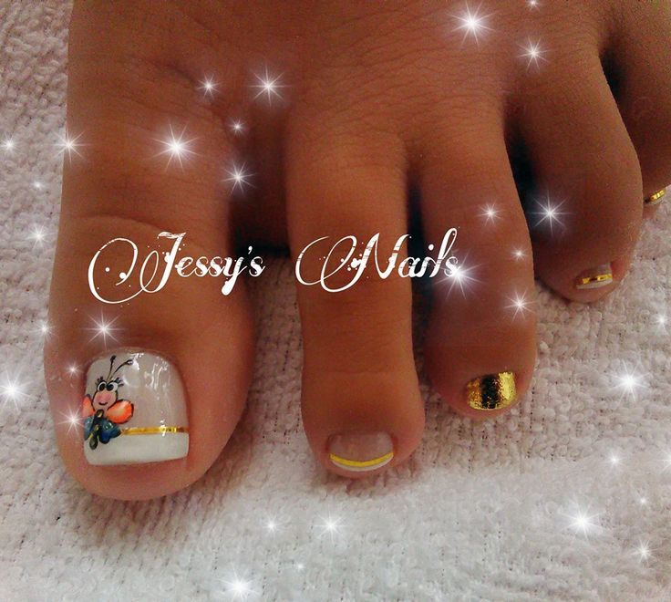 U as delicadas con dorado u as quincea eras bonitas delicadas nail art pinterest - Unas bonitas decoradas ...
