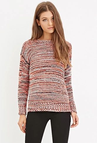Marled Knit Sweater | Forever 21 #foreverfamily