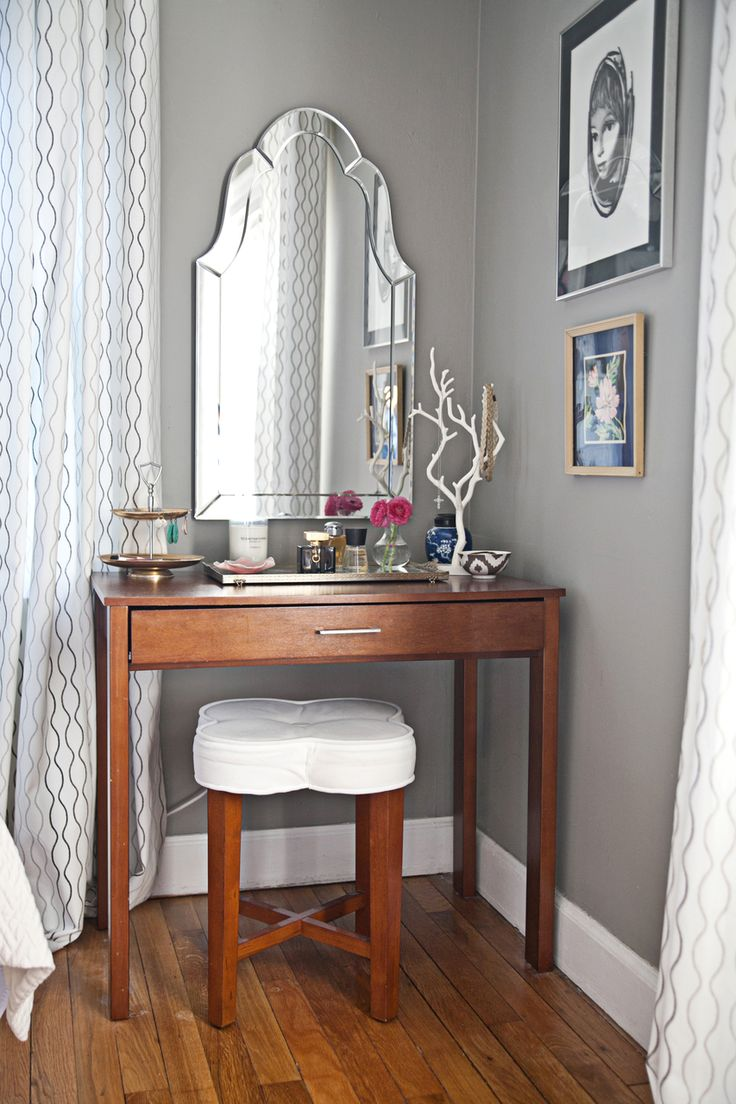 Style at home with heather freeman glitter style and vanities Vanity for master bedroom