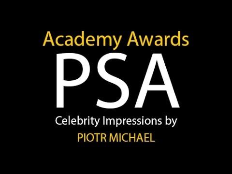 Celebrity Impressionist Makes a PSA for Those Nominated for the 86th Academy Awards
