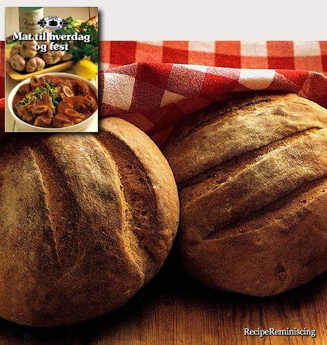 Swiss Peasant Bread / Sveitsisk Bondebrød