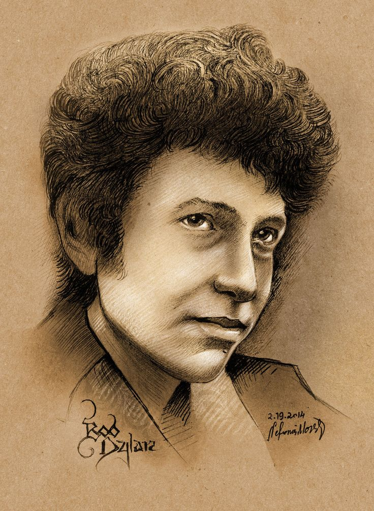 Bob Dylan - Young by NickMoscovitz on DeviantArt