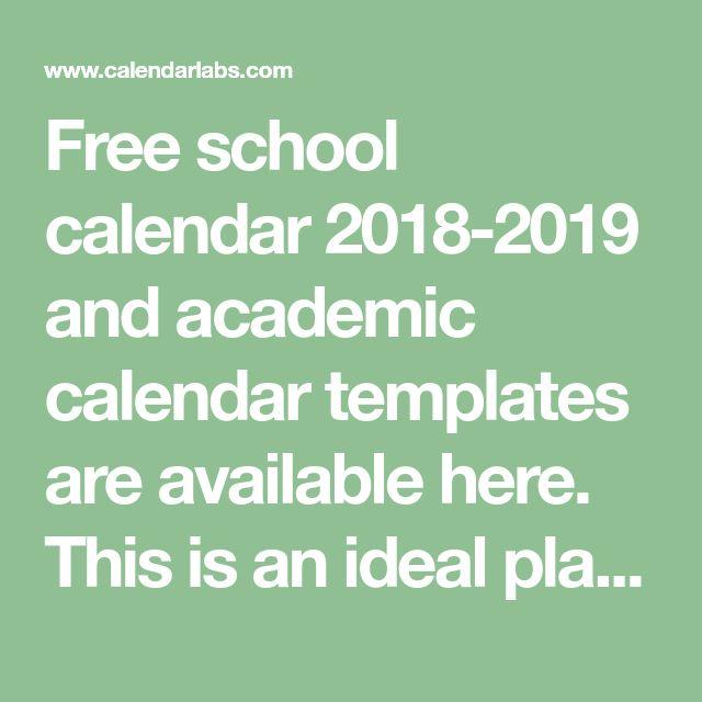 19 best Academic Calendar images on Pinterest Academic calendar