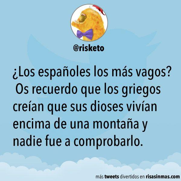¿Los españoles los más vagos?