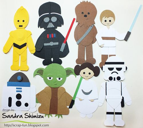 Star Wars Punch Art (no directions at site).