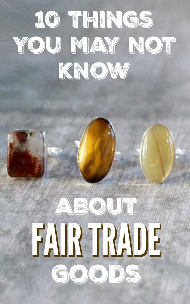 10 Things You May Not Know About Fair Trade Goods