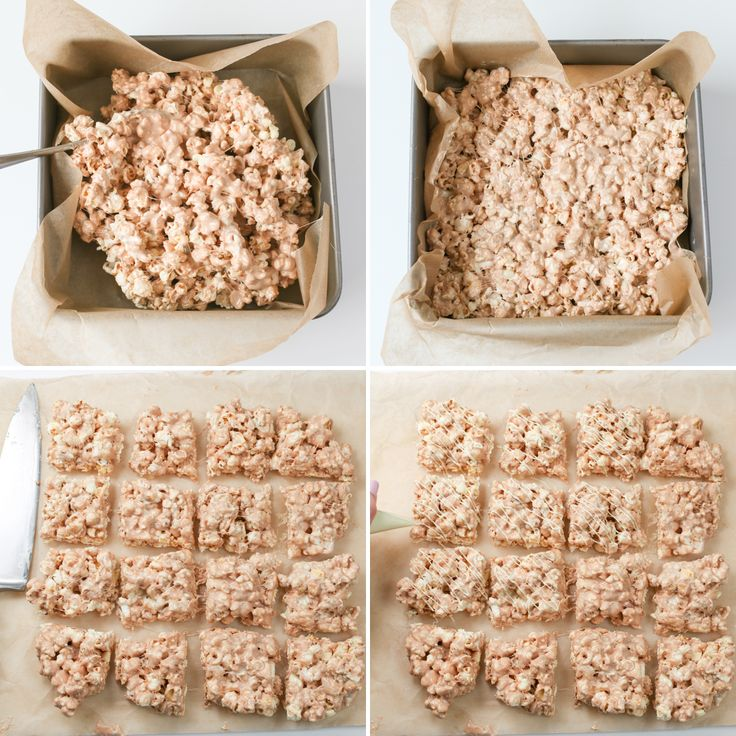 how to make popcorn bars