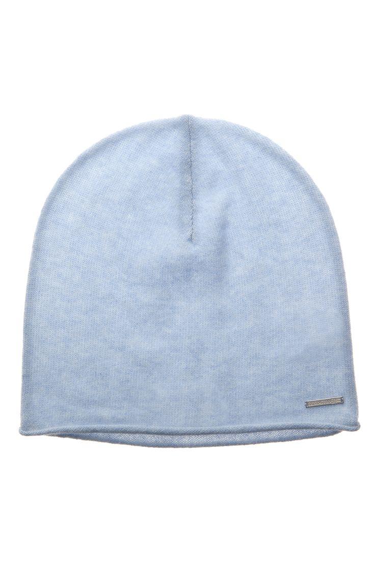 Cashmere Fontana Beanie Light Blue Melange http://www.lexingtoncompany.com/women/new_arrivals/cozy_cashmere/fontana-beanie-light_-blue_-melange