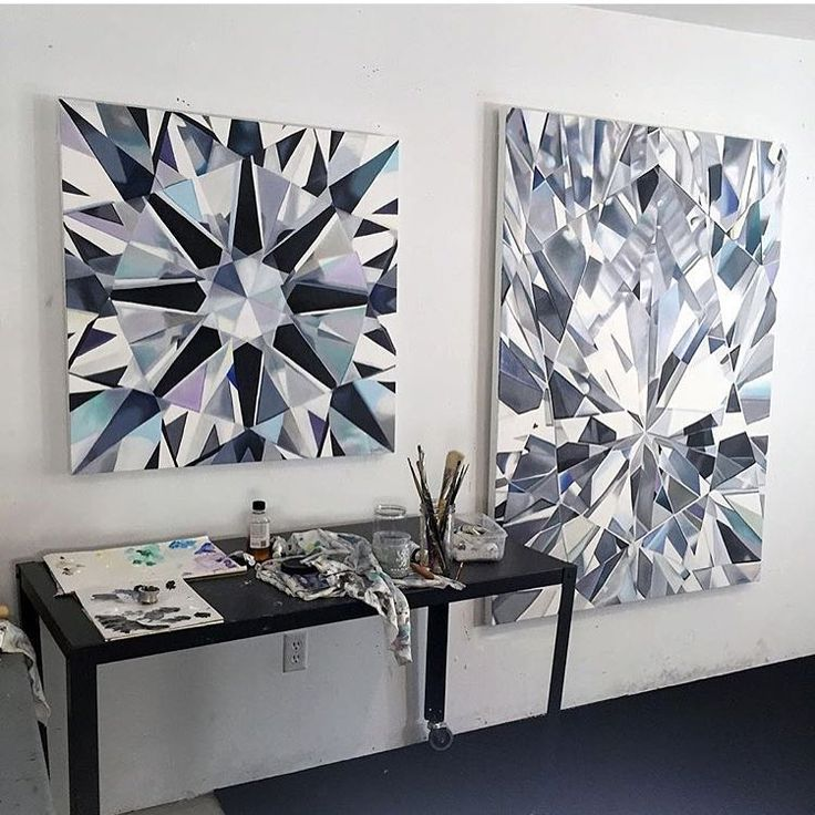 These 2 paintings (plus an emerald cut diamond) are FINALLY available! Email sales@roseark.com for price list  Thank you for your patience!  @roseark #diamondpainter