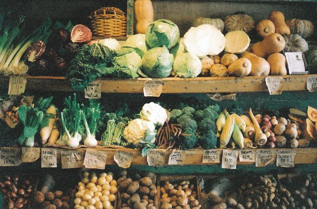 Summer market is coming to an end. Hooray for Fall/Winter veggies!