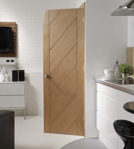 Monza Oak Internal Door #contemporarydoors