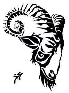 Goat For Tattoo By Mashumaru On DeviantART