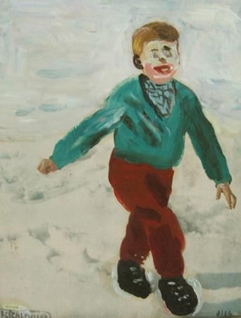 WALKING ON THE SNOW | pdx contemporary art