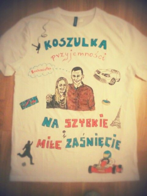 Tshirt for my boyfriend. Gift for christmas. Tshirt full of the most favourite things.