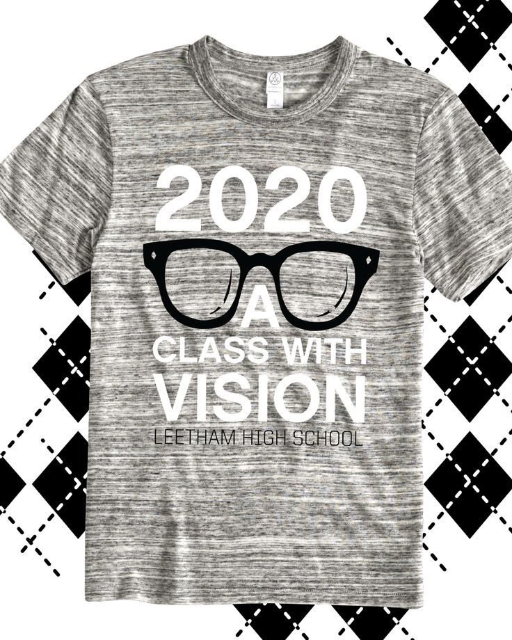 2020 a class with vision class of 2020 t shirt design idea for custom