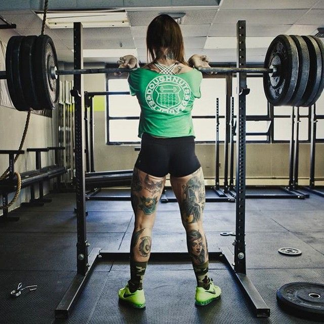 "8 Weightlifters On Instagram Tell Us About Their Bodies #refinery29  http://www.refinery29.com/female-bodybuilders-instagram#slide-7  Krissy Mae Cagney (@krissymaecagney)Favorite pre-workout snack: ""When I'm behaving myself, I used to do oats, but they take a long time to digest. So recently I switched to cream of rice with a little bit of honey and banana in it. When I'm not behaving mysel..."