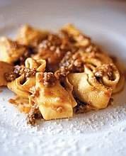 Cappellacci di zucca; best Italian food ever!
