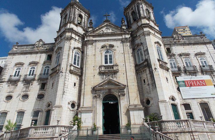 Salvador, Bahia, Brasil - Basílica de Nossa Senhora da Conceição da Praia