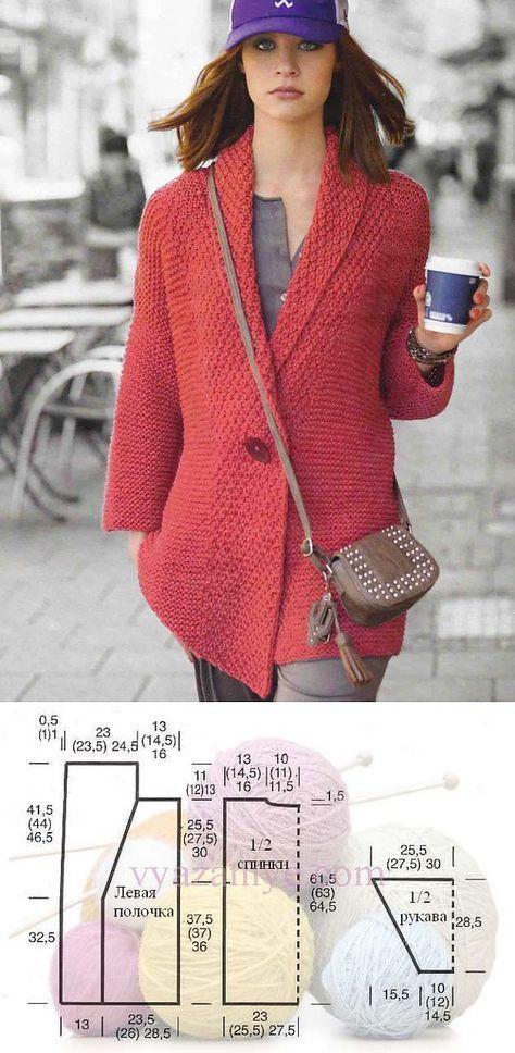 Вязание пуловера реглан   ДОМО  