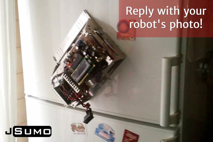 Reply with your robot's photo!