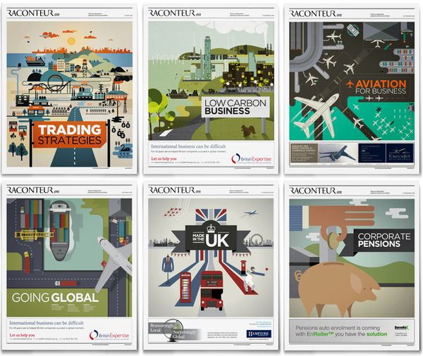 Raconteur cover illustration series