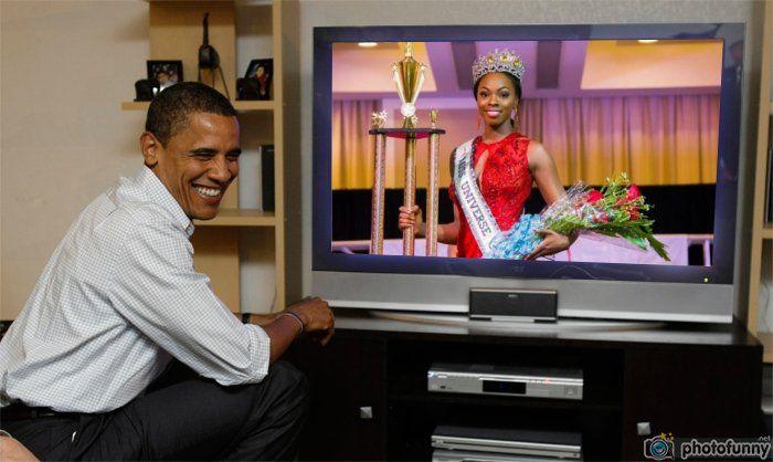Soyini Fraser Miss Universe Guyana 2016 watch live Obama