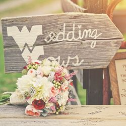 A fun and rustic outdoor wedding in West Virginia with tons of DIY ideas!
