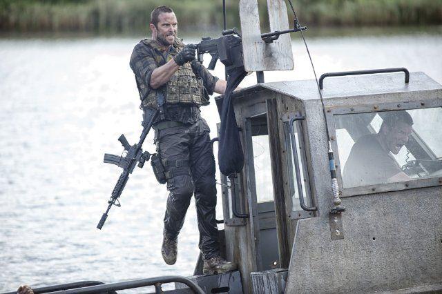 Sullivan Stapleton as Damien Scott in Strike Back