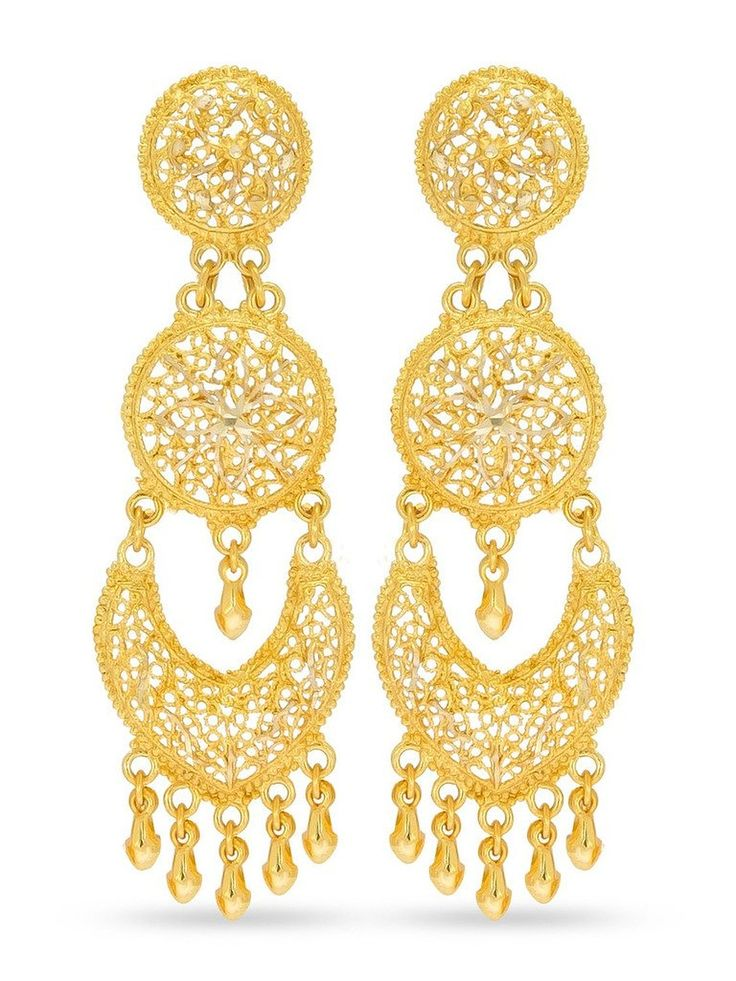 Buy Big Tree Traditional Brass Golden Dangle & Drop Earring for women Online at Low Prices in India | Amazon Jewellery Store - Amazon.in