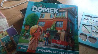 """Ania mama Agnieszki: Gra planszowa """"Domek"""""""