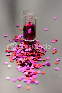Love Particles Royalty Free Stock Photo