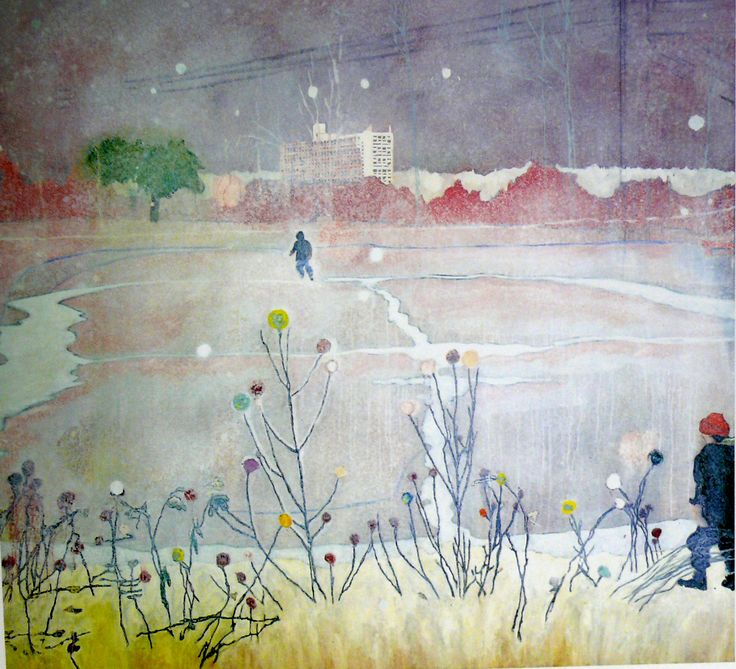 Image result for peter doig untitled 1959