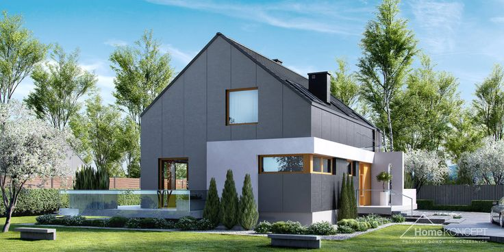Projekt domu HomeKONCEPT 17 www.homekoncept.pl #projektdomu