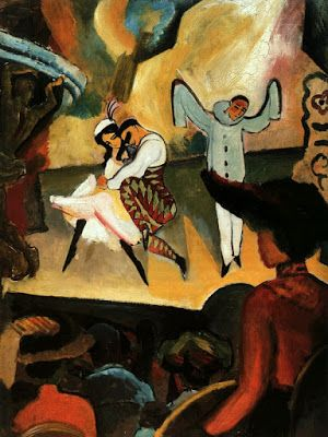 August Macke, Ballets Russes, 1912