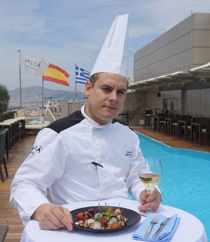 Interview: Meet Dimitris Karampampas, the new executive chef at Melia Athens