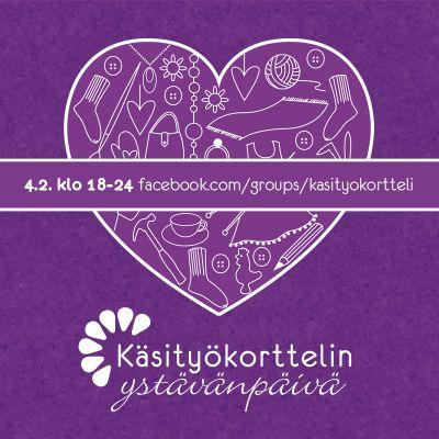 Käsityökorttelin Ystävänpäivä https://www.facebook.com/groups/Kasityokortteli/