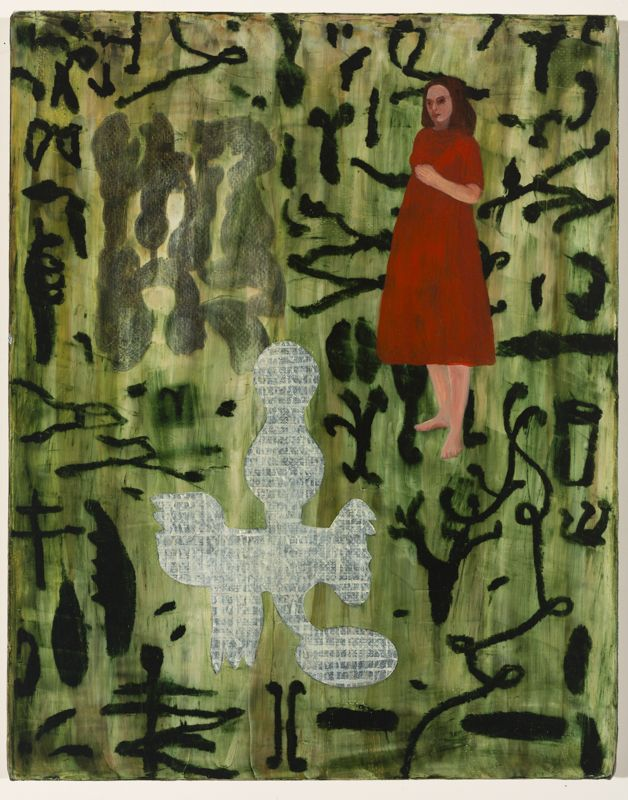 Barbara Tuck, Iris Gate, 1999, Oil on canvas, 508 x 405mm, 1 of a suite of 6