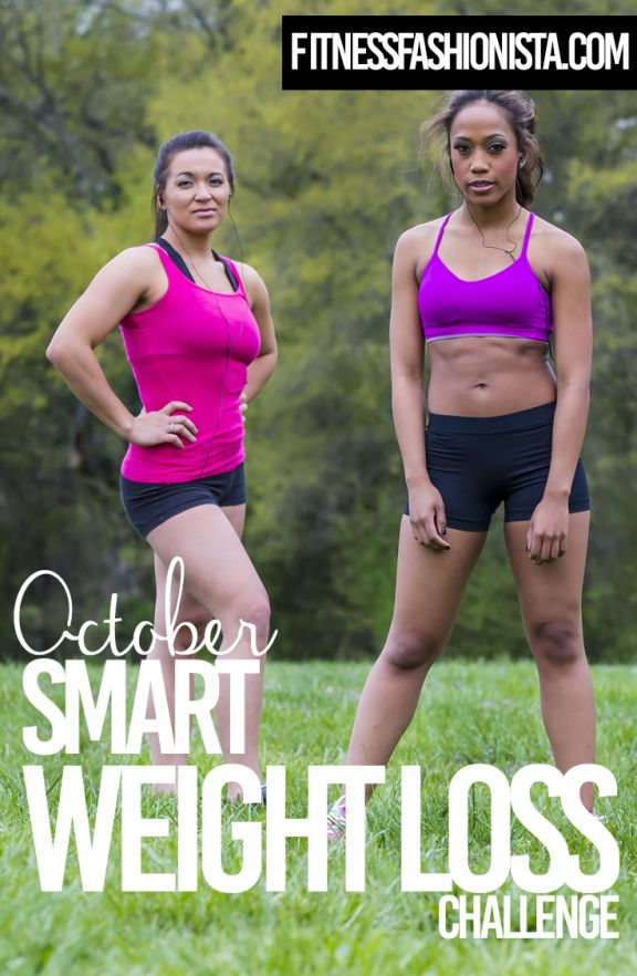 October SMART Weight Loss Challenge Pinnable Image