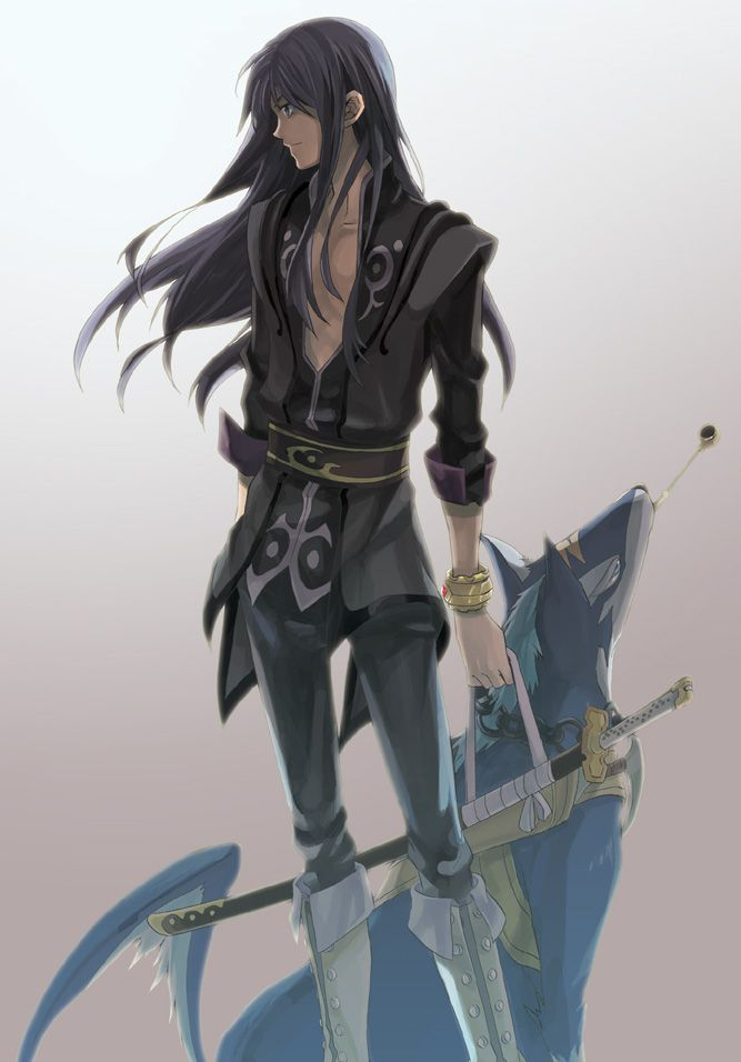 Tales of Vesperia, Yuri Lowell, Repede, Fujimura Ayumi