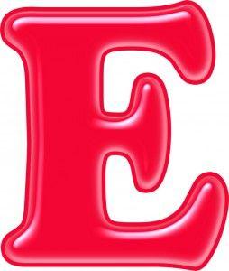 Красивые картинки буквы Е — детские, раскраски, трафарет ...