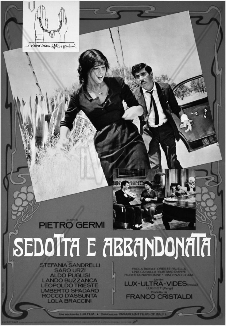 'Sedotta e Abandonata' (1964), a satire on Sicilian society from director Pietro Germi.