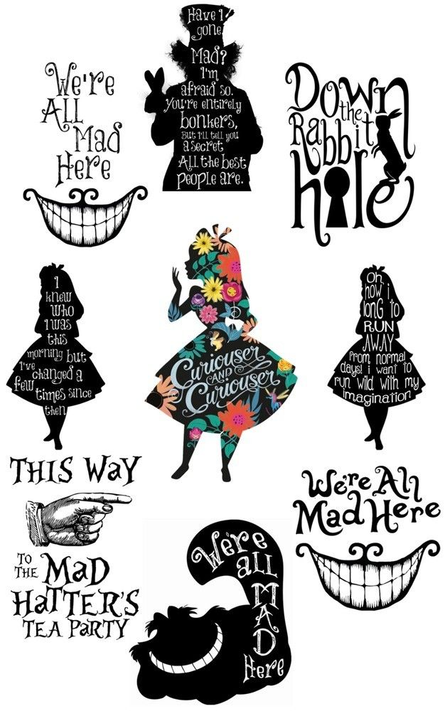 Pin By Chelsey On Notebooks Alice In Wonderland Drawings Alice And Wonderland Quotes Alice And Wonderland Tattoos