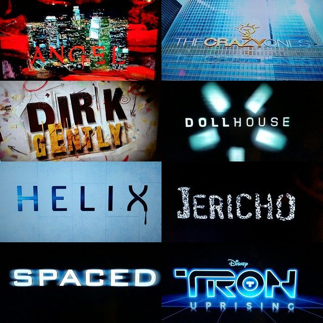 #The30DaysofChannelSurfing Day 20: Show that doesn't get the recognition it deserves - So many #Angel #TheCrazyOnes #DirkGently #Dollhouse #Helix #Jericho #Spaced #TronUprising