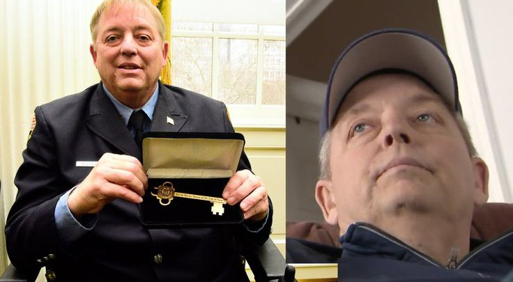 HICKSVILLE, N.Y. —Retired FDNY firefighter Raymond Pfeifer received a hero's send-off Friday in his hometown of Hicksville, five days after he died of 9/11-related cancers at a hospice in Port Washington.  Comedian Jon Stewart, who had lobbied Congress with Pfeifer for an extension of the Zadroga Act, which guarantees medical care for sick first responders, gave an emotional eulogy at Holy Family Church, before Mayor Bill de Blasio, Fire Commissioner Daniel Nigro and hundreds of active...