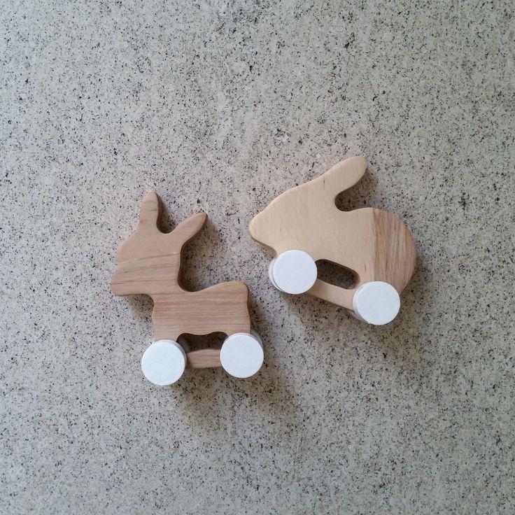 pinch • toys | DONKEY AND RABBIT
