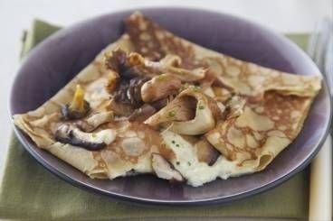 Découvrez cette recette de Crêpes salées aux champignons expliquée par nos chefs