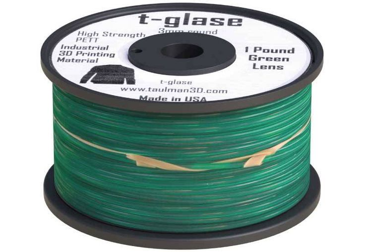 #Taulman #3D #T-Glase comes in a #variety of #colours whilst  maintaining #strength  #filament is made of 100% reclaimable material that can be remixed and used again #3DPrinting #3DPrintingPerth