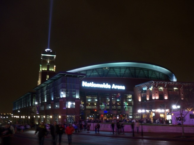 Nationwide Arena - Columbus, Ohio - Home of the Blue Jackets